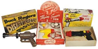 Toy guns (3), Daisy Buck Rogers' Disintegrator, unusual