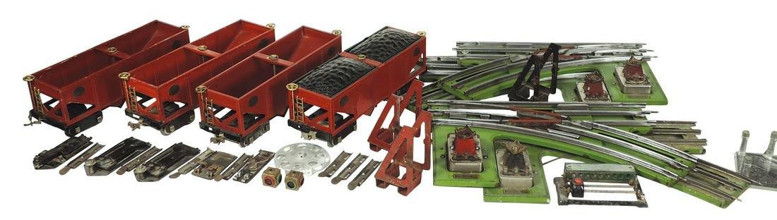 Toy train cars, track & accessories, Lionel Standard