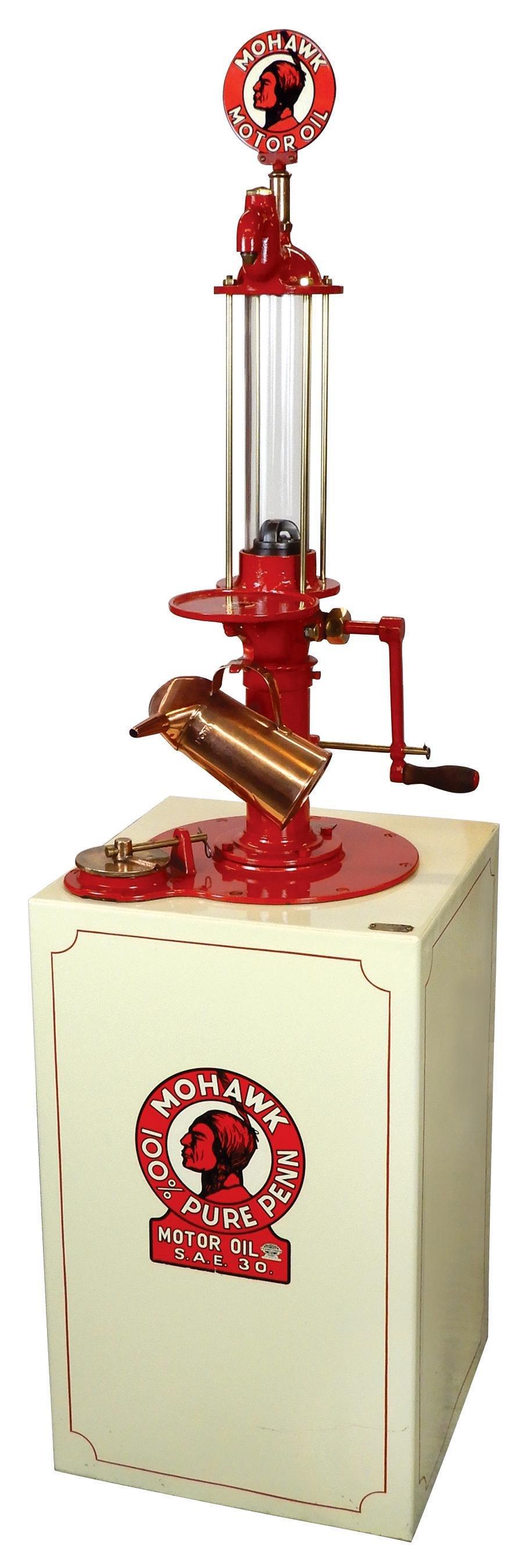Gasoline pump, Rare American Oil Pump & Tank Co., 23
