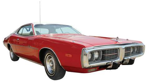 """Automobile, 1973 Dodge Charger SE """"Special Edition"""""""