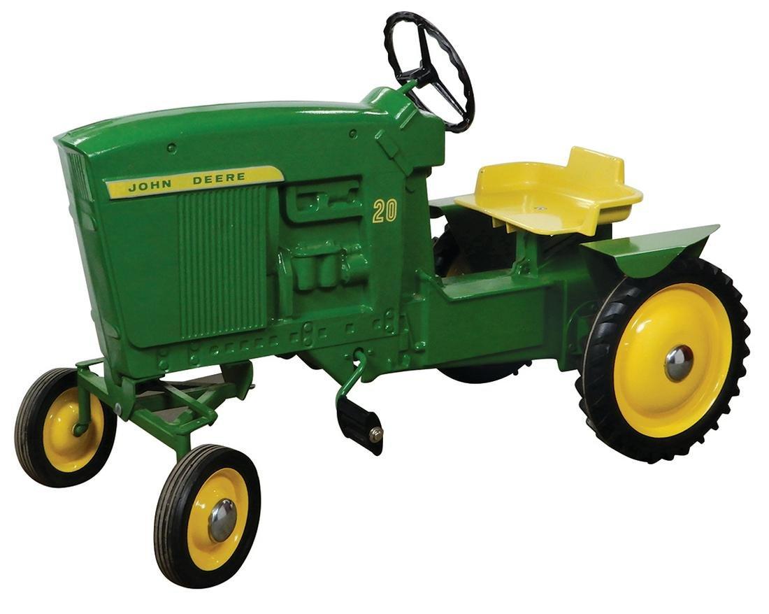Child's pedal tractor, John Deere Model 20,  Ertl Toy
