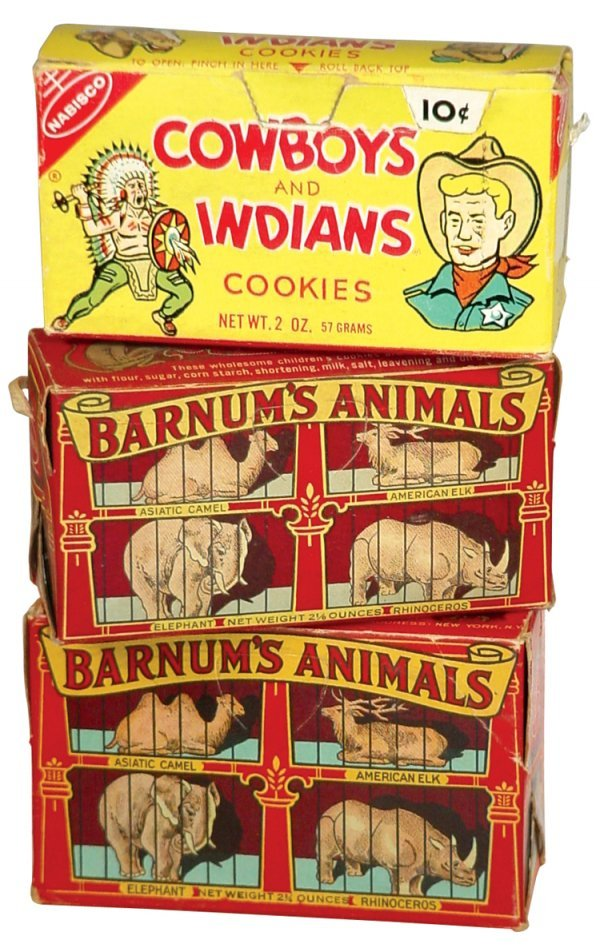 0016: National Biscuit Co. Barnum's Animal Cracker boxe