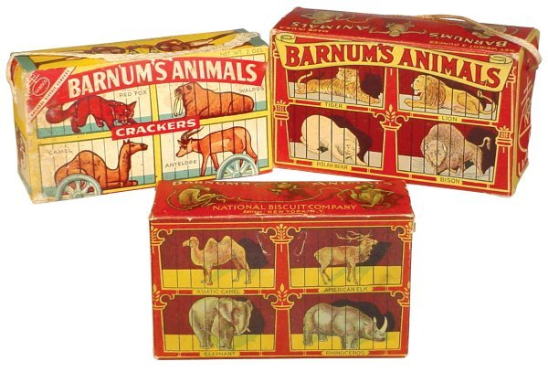 0017: National Biscuit Co. Barnum's Animal Cracker boxe