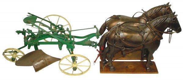 0366: Salesman's sample plow, believed to be a John Dee