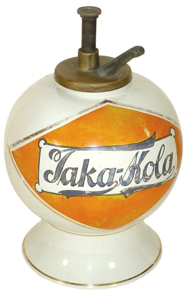 1233: Syrup dispenser, Taka-Kola, ball shape, small bas