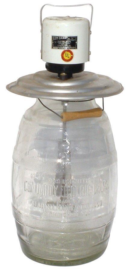 1394: Gem Dandy Electric Churn, Alabama Mfg  Co-Birming