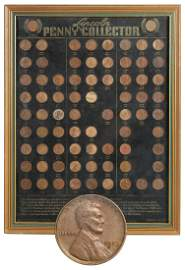 Coins (75): Lincoln Head Pennies, 1900VBD -1935D, in