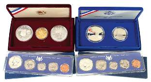 Coins US Mint Proof Sets 4 1966  1967SS 1986