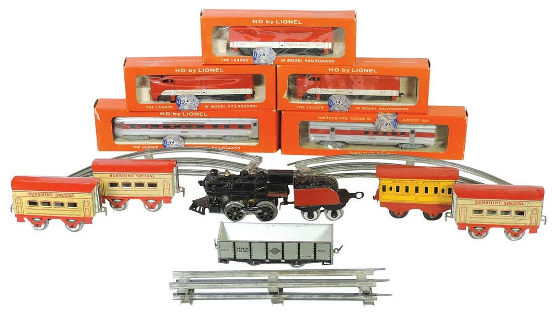 """Toy Train Sets (2), 5-pc Lionel HO """"Texas Special"""""""