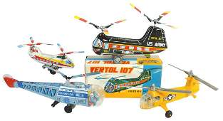 Toy Helicopters 4 1960