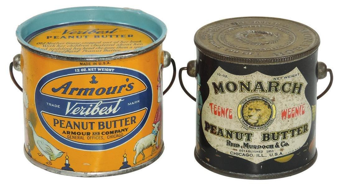 Children's Peanut Butter Pails (2), Monarch Teenie