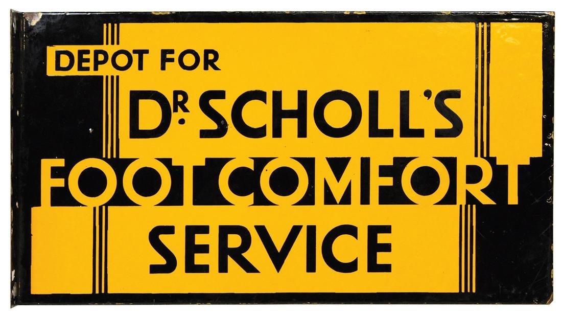 Shoe Store Sign, Dr. Scholl's Foot Comfort Service,