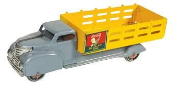 CocaCola Toy Delivery Truck Marx Sprite Boy pressed
