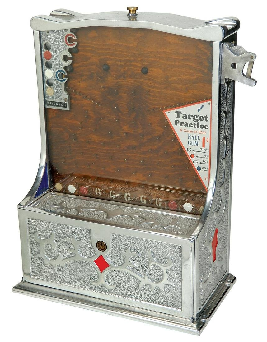 "Coin-Operated Trade Stimulator, ""Target Practice"", mfgd"