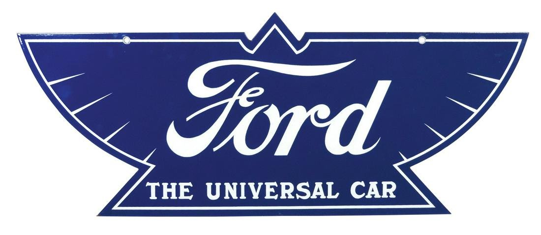 "Automotive Dealership Sign, Ford ""The Universal Car"", a"