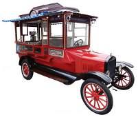 Classic 1927 Ford Model T Cretors Popcorn Truck w/Exc
