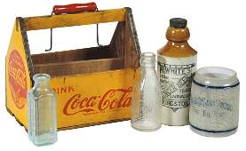Soda Fountain Beverage Carrier  Bottles 5 CocaCola