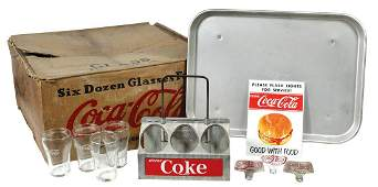 CocaCola Assorted Wares 34 partial case of 29