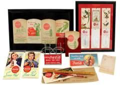 Coca-Cola Ephemera & Novelties (9), 1930