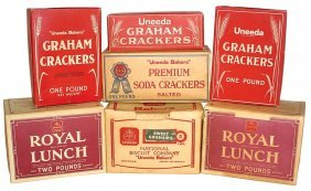 0020: National Biscuit Company cracker boxes (7), Premi