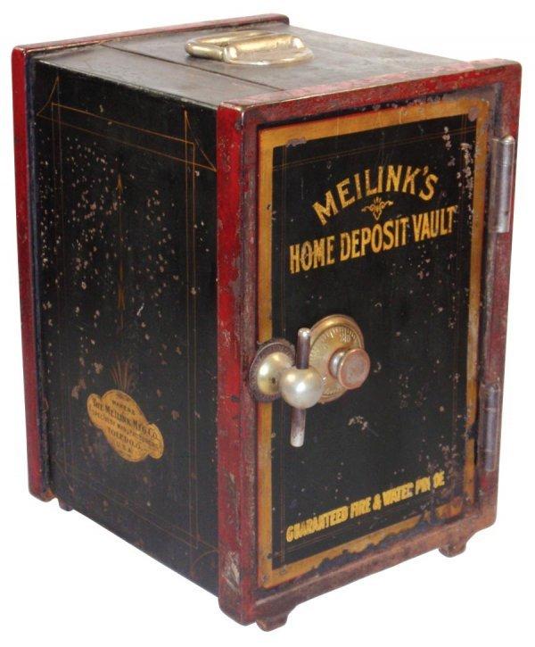 0465: Cast iron safe, Meilink's Home Deposit Vault, The