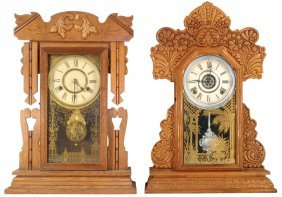 Kitchen Clocks (2), Mfgd By Ingraham & New Haven