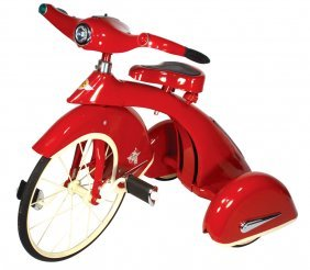 Tricycle, Contemporary 1930's Sky King Airflow, S
