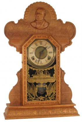 Kitchen Clock, President McKinley Commemorative S