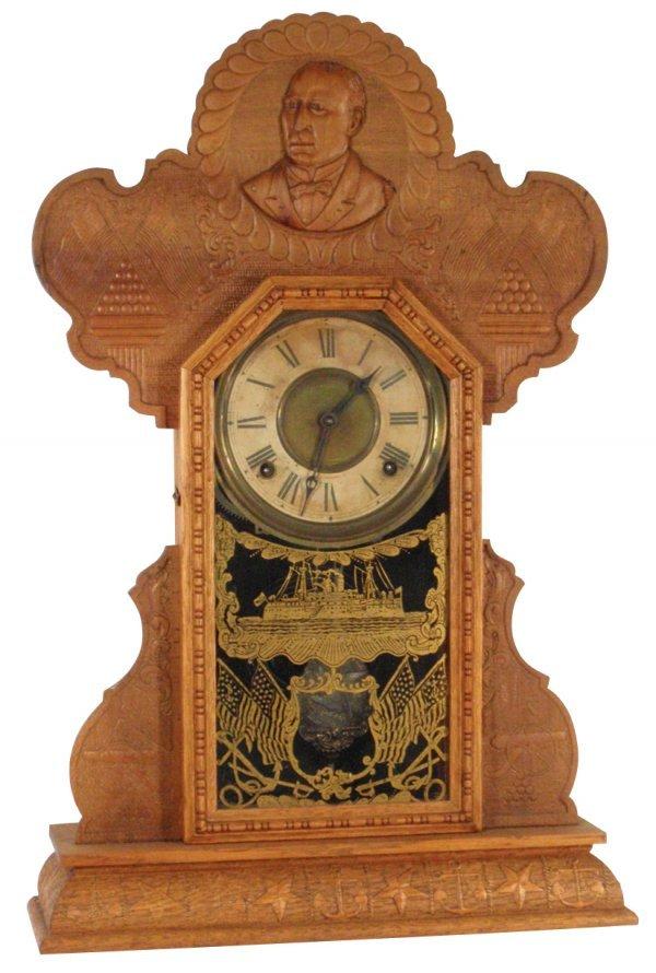 0099: Kitchen clock, President McKinley Commemorative S