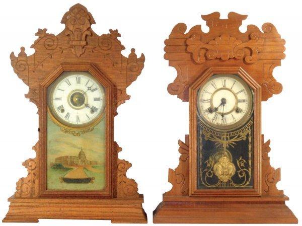 0101: Kitchen clocks (2), mfgd by Waterbury & Seth Thom