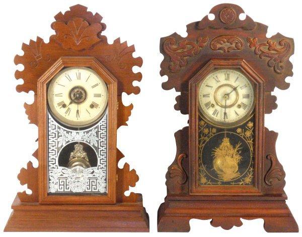 0103: Kitchen clocks (2), mfgd by Ansonia & New Haven,