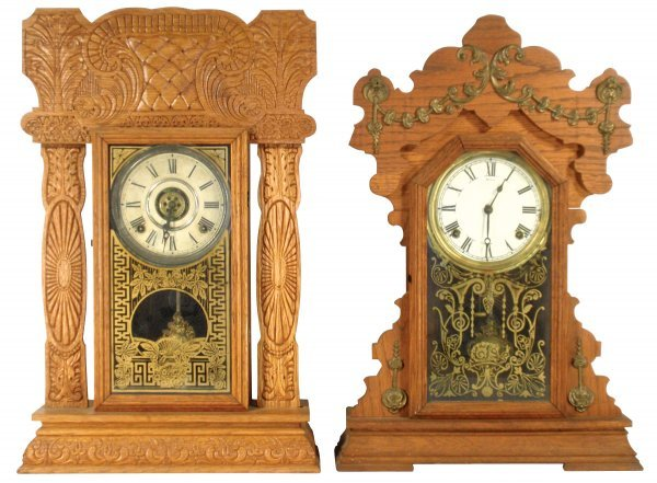 0105: Kitchen clocks (2), mgfd by Seth Thomas & Ingraha
