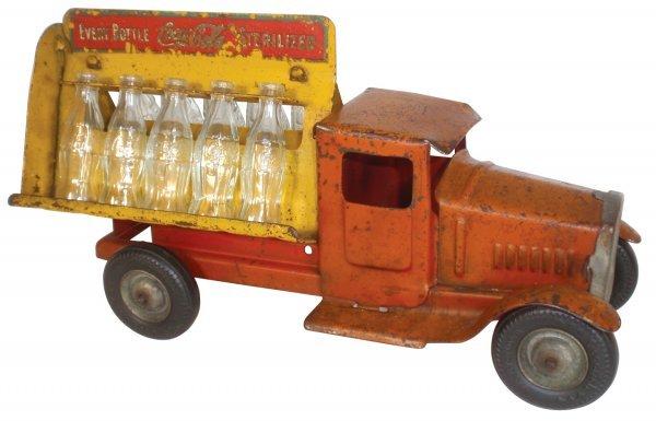 0120: Coca-Cola truck, Metalcraft Corp, pressed steel,