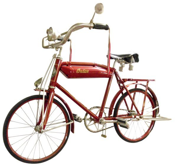"""0271: Bicycle, Indian, child's 16"""", only one known to e"""