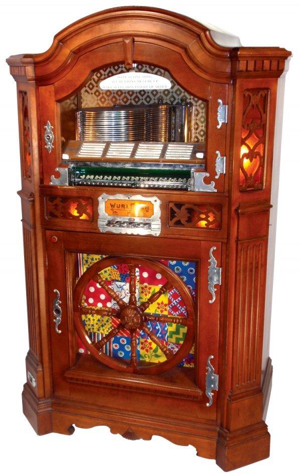 0459: Coin-operated jukebox, Wurlitzer 780, 24 selectio