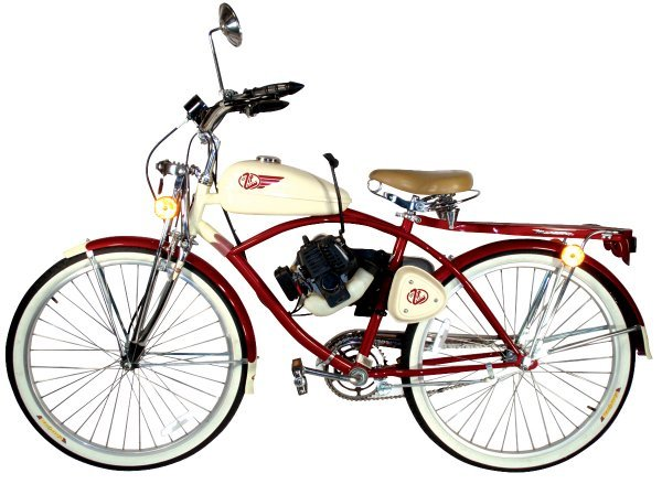 0531: Bicycle, Mercury Zip Cycle w/gas engine, c.1960's