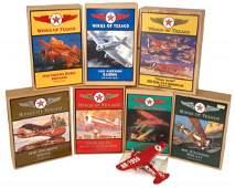 1085 Toy Texaco Wings of Texaco airplanes 7 16