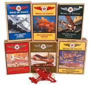 1087 Toy Texaco Wings of Texaco airplanes 6 26