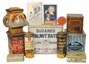 Advertising Convenience Food Tins & Containers (12),
