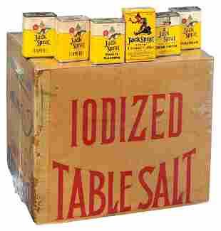 Advertising Jack Sprat Items (7), cdbd shipping box for