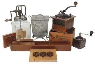 Kitchenware Butter Churns & Coffee Mills (8), Dazey