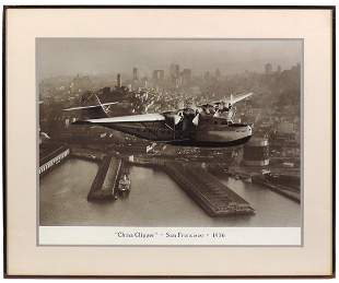 Transportation Photograph, China Clipper, View over San