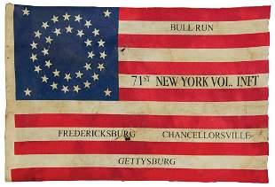 """Militaria, Civil War Veterans """"35 Star American Parade"""