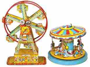 Toys (2), Chein Hercules Ferris Wheel & Chein