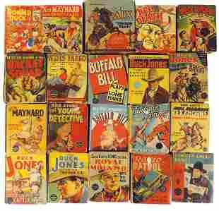 Children's Big Little Books (20), mostly Big Little w/a