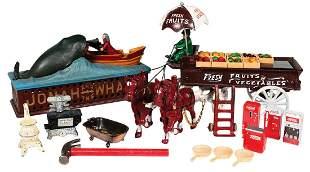 Mechanical Bank & Toys (14), Jonah & the Whale cast
