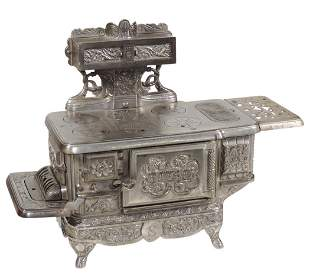 Salesman's Sample or Child's Toy Stove, Rival, mfgd by