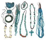 Native American Southwest Jewelry (11), 4 turquoise