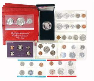Coins, Proof Sets (15), Various U.S. Silver,