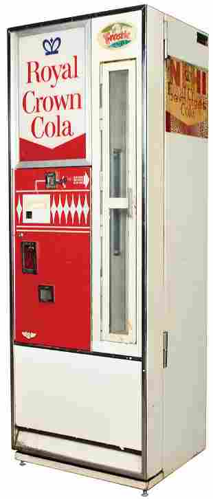 Coin-Operated RC Cola Vending Machine, Selectivend